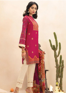 RajBari Embroidered Lawn Unstitched 2 Piece Suit RB20EL 3B - Spring / Summer Collection