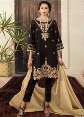 RajBari Embroidered Lawn Unstitched 2 Piece Suit RB20EL 4A - Spring / Summer Collection