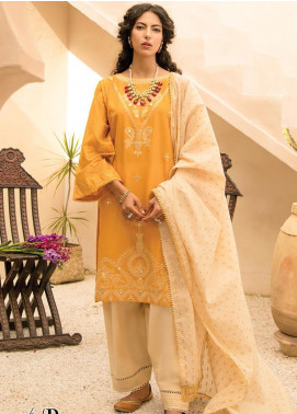 RajBari Embroidered Lawn Unstitched 2 Piece Suit RB20EL 4B - Spring / Summer Collection