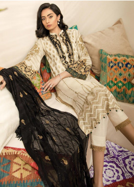 RajBari Embroidered Lawn Unstitched 2 Piece Suit RB20EL 5B - Spring / Summer Collection