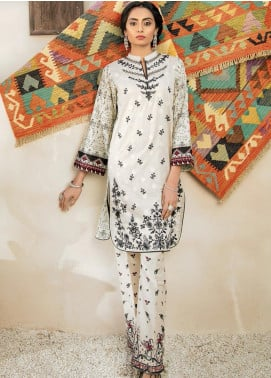 RajBari Embroidered Jacquard Unstitched 2 Piece Suit RB20EL 6B - Spring / Summer Collection