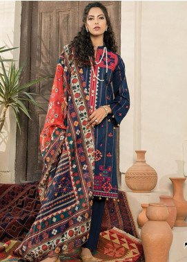 RajBari Embroidered Jacquard Unstitched 2 Piece Suit RB20EL 7A - Spring / Summer Collection