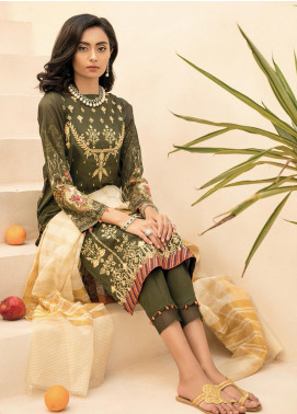 RajBari Embroidered Lawn Unstitched 2 Piece Suit RB20EL 8B - Spring / Summer Collection