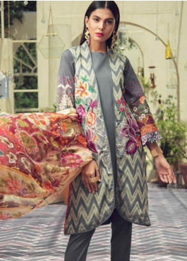 RajBari Embroidered Jacquard Unstitched 3 Piece Suit RB19F 7A - Festive Collection