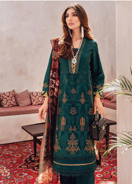RajBari Embroidered Lawn Unstitched 3 Piece Suit RB20L 1-A - Luxury Collection