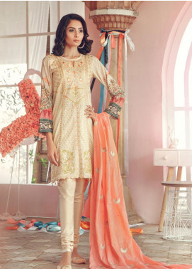 RajBari Embroidered Jacquard Unstitched 3 Piece Suit RB19WF 1A - Winter Collection