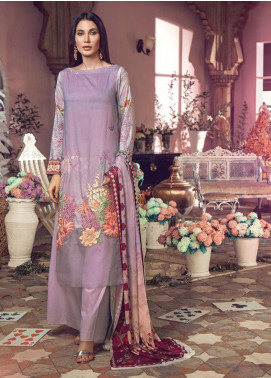 RajBari Embroidered Jacquard Unstitched 3 Piece Suit RB19WF 9B - Winter Collection