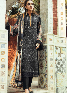 RajBari Embroidered Karandi Unstitched 3 Piece Suit RB20PW D-03-A - Winter Collection