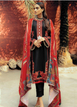 RajBari Embroidered Khaddar Unstitched 3 Piece Suit RB20PW D-05-A - Winter Collection