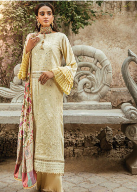 RajBari Embroidered Karandi Unstitched 3 Piece Suit RB20PW D-06-A - Winter Collection