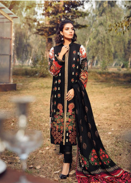 RajBari Embroidered Khaddar Winter Collection Design # 10a 2019