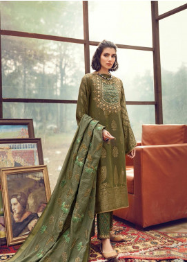 RajBari Embroidered Karandi Winter Collection Design # 1b 2019