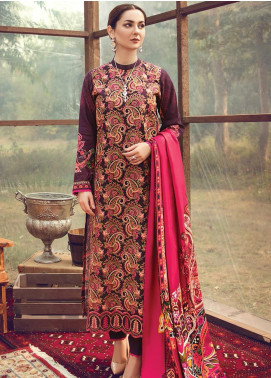 RajBari Embroidered Khaddar Winter Collection Design # 4a 2019