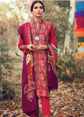 RajBari Embroidered Khaddar Winter Collection Design # 4b 2019