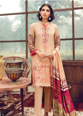 RajBari Embroidered Karandi Unstitched 3 Piece Suit RB19-W2 5A - Winter Collection