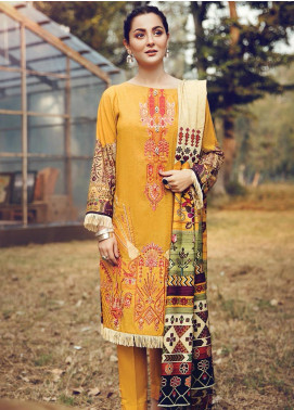 RajBari Embroidered Karandi Winter Collection Design # 5b 2019