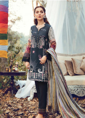 RajBari Embroidered Khaddar Winter Collection Design # 7a 2019