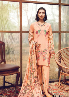 RajBari Embroidered Karandi Unstitched 3 Piece Suit RB19-W2 9A - Winter Collection