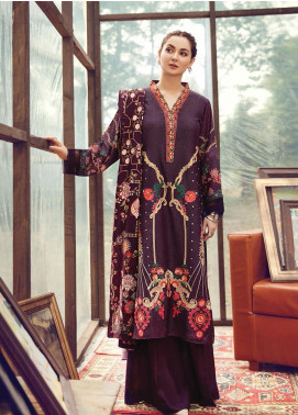 RajBari Embroidered Karandi Winter Collection Design # 9b 2019