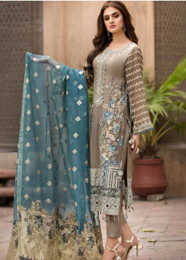 Rang e Bahar by Motifz Embroidered Chiffon Unstitched 3 Piece Suit RB20MT 02351 - Luxury Collection