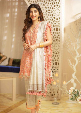Rang Rasiya Embroidered Silk  Unstitched 3 Piece Suit RRC19E 804 - Festive Collection