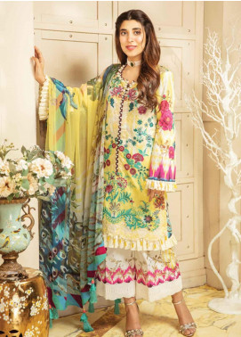 Rang Rasiya Embroidered Jacquard Unstitched 3 Piece Suit RRC19E 811 - Festive Collection