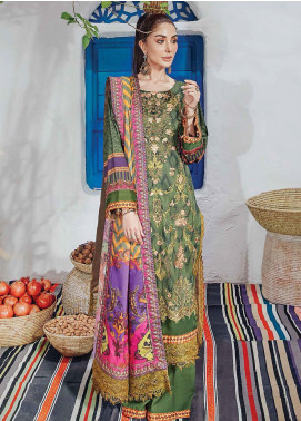 Florence by Rang Rasiya Embroidered Cottel Linen Unstitched 3 Piece Suit RR20LF 624 Nostalgia - Festive Collection