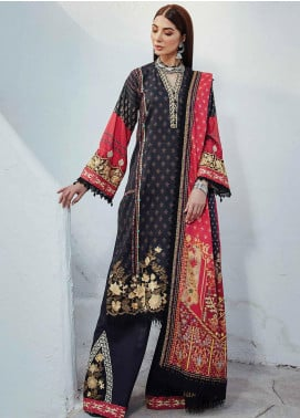 Florence by Rang Rasiya Embroidered Cottel Linen Unstitched 3 Piece Suit RR20LF 627 Kurnak - Festive Collection