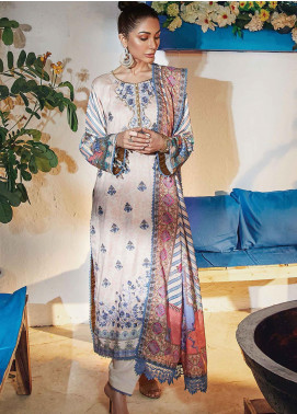 Florence by Rang Rasiya Embroidered Cottel Linen Unstitched 3 Piece Suit RR20LF 628 Melody - Festive Collection