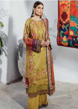 Florence by Rang Rasiya Embroidered Cottel Linen Unstitched 3 Piece Suit RR20LF 631 Naukhel - Festive Collection