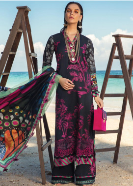 Rang Rasiya Embroidered Lawn Unstitched 3 Piece Suit RR20L 103 - Luxury Collection