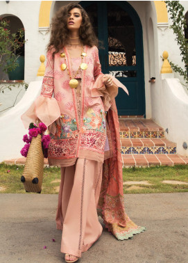 Rang Rasiya Embroidered Lawn Unstitched 3 Piece Suit RR20L 110 - Luxury Collection