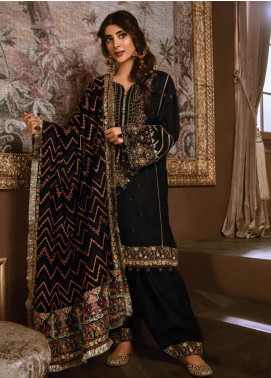 Rang Rasiya Embroidered Linen Unstitched 3 Piece Suit RR19W 1301 - Winter Collection