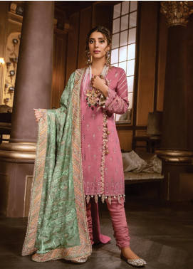 Rang Rasiya Embroidered Linen Unstitched 3 Piece Suit RR19W 1302 - Winter Collection