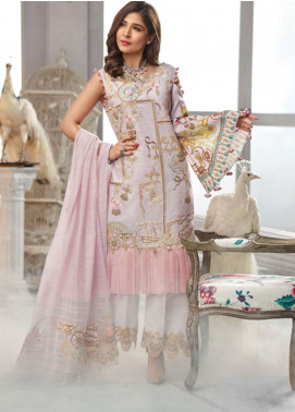 Rang Rasiya Embroidered Lawn Unstitched 3 Piece Suit RR19L 5001B - Spring / Summer Collection
