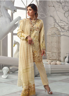 Rang Rasiya Embroidered Lawn Unstitched 3 Piece Suit RR19L 5006A - Spring / Summer Collection