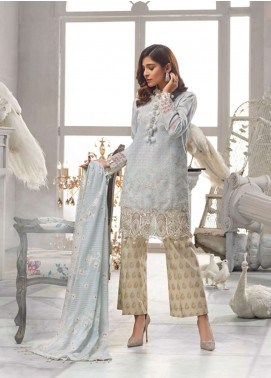 Rang Rasiya Embroidered Lawn Unstitched 3 Piece Suit RR19L 5010B - Spring / Summer Collection