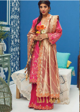 Rang Rasiya Embroidered Cotton Unstitched 3 Piece Suit RR20PW 157 Amrita - Winter Collection