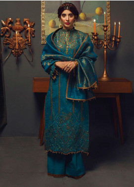 Rang Rasiya Embroidered Cotton Unstitched 3 Piece Suit RR20PW 162 Tsar - Winter Collection