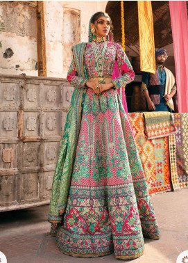Heritage Collectables by Rang Rasiya Embroidered Taffeta Unstitched 3 Piece Suit RR21HC 08 - Wedding Collection