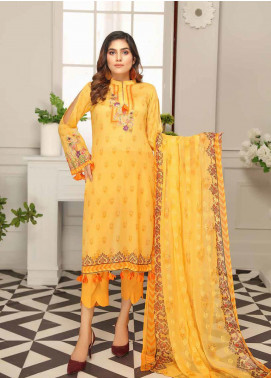 Range by Sanam Saeed Embroidered Lawn Unstitched 3 Piece Suit SS20L 01 - Summer Collection