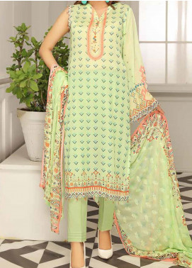 Range by Sanam Saeed Embroidered Lawn Unstitched 3 Piece Suit SS20L 03 - Summer Collection