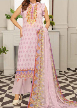 Range by Sanam Saeed Embroidered Lawn Unstitched 3 Piece Suit SS20L 05 - Summer Collection