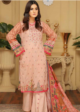 Rangoli by Sanam Saeed Embroidered Lawn Unstitched 3 Piece Suit RSS20SL 05 - Summer Colletion
