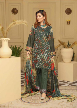 Rangoli by Sanam Saeed Embroidered Lawn Unstitched 3 Piece Suit RSS20L 04 - Summer Collection