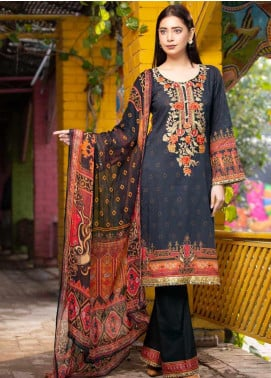 Rangoli by Shamira Embroidered Lawn Unstitched 3 Piece Suit SHR20N 1 - Summer Collection