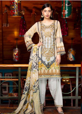 Rangoli by Shamira Embroidered Lawn Unstitched 3 Piece Suit SHR20N 10 - Summer Collection