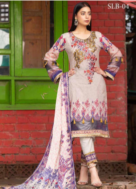 Rangoli by Shamira Embroidered Lawn Unstitched 3 Piece Suit SHR20N 4 - Summer Collection