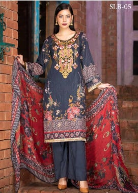 Rangoli by Shamira Embroidered Lawn Unstitched 3 Piece Suit SHR20N 5 - Summer Collection