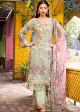 Rangoli by Shamira Embroidered Lawn Unstitched 3 Piece Suit SHR20N 7 - Summer Collection